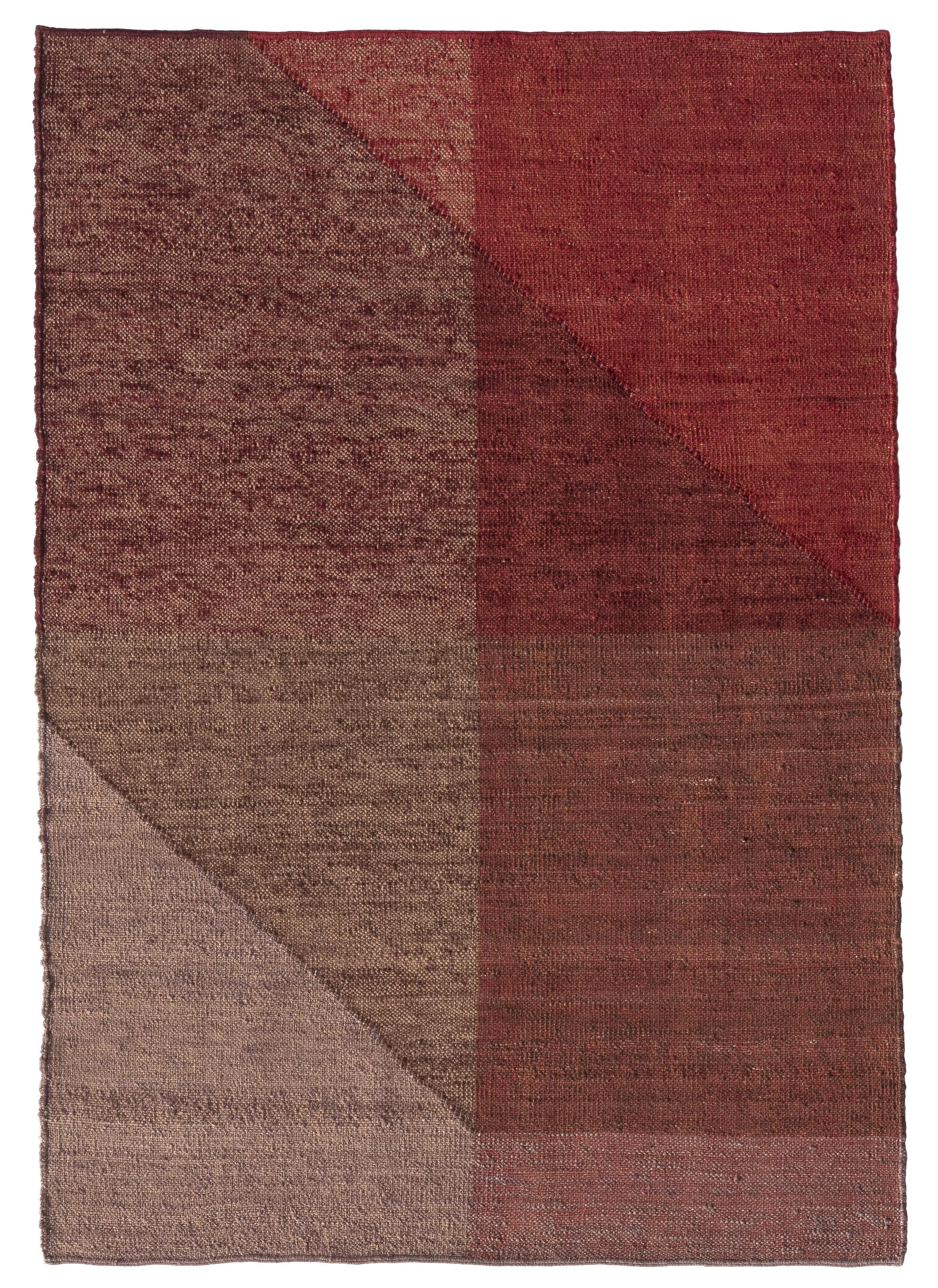 Interni - Tappeti - Tappeto Capas 1 - / 200 x 300 cm di Nanimarquina - Rossi - Lana