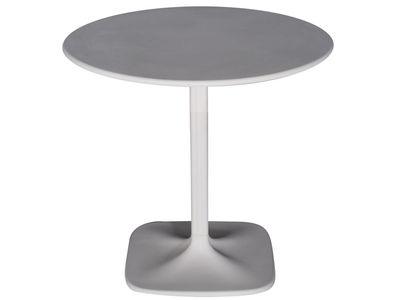 Outdoor - Tavoli  - tavolo da giardino Supernatural di Moroso - Bianco - Fibra di vetro, Polipropilene