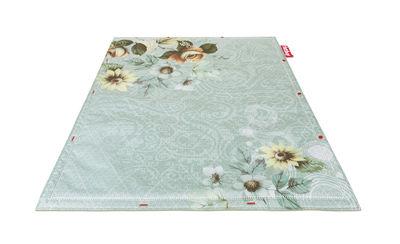 Non Flying Carpet Teppich / Don't step - 180 x 140 cm - Fatboy - Blaugrün