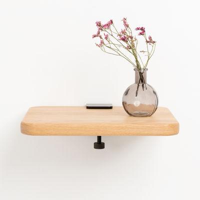 Möbel - Regale und Bücherregale - Bracket Wandhalter / Mit Schraubzwinge - Um ein Regal zu gestalten - TIPTOE - Patinierter Stahl - thermolackierter Stahl