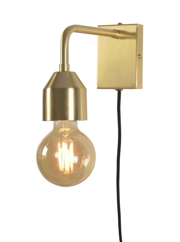 Luminaire - Appliques - Applique avec prise Madrid Small - It's about Romi - Or - Fer