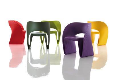 Fauteuil Raviolo Ron Arad.Raviolo Armchair Plastic By Magis