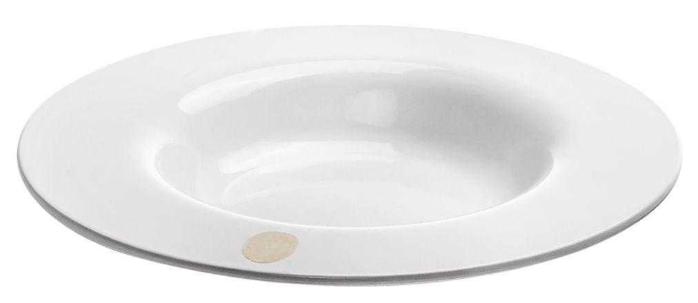 Arts de la table - Assiettes - Assiette creuse I.D.Ish by D'O Spring / Classique - Mélamine - Kartell - Forme classique / Blanc - Mélamine
