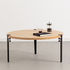 Base leg with clamp system / H 43 cm - To create coffee tables and benches - TipToe