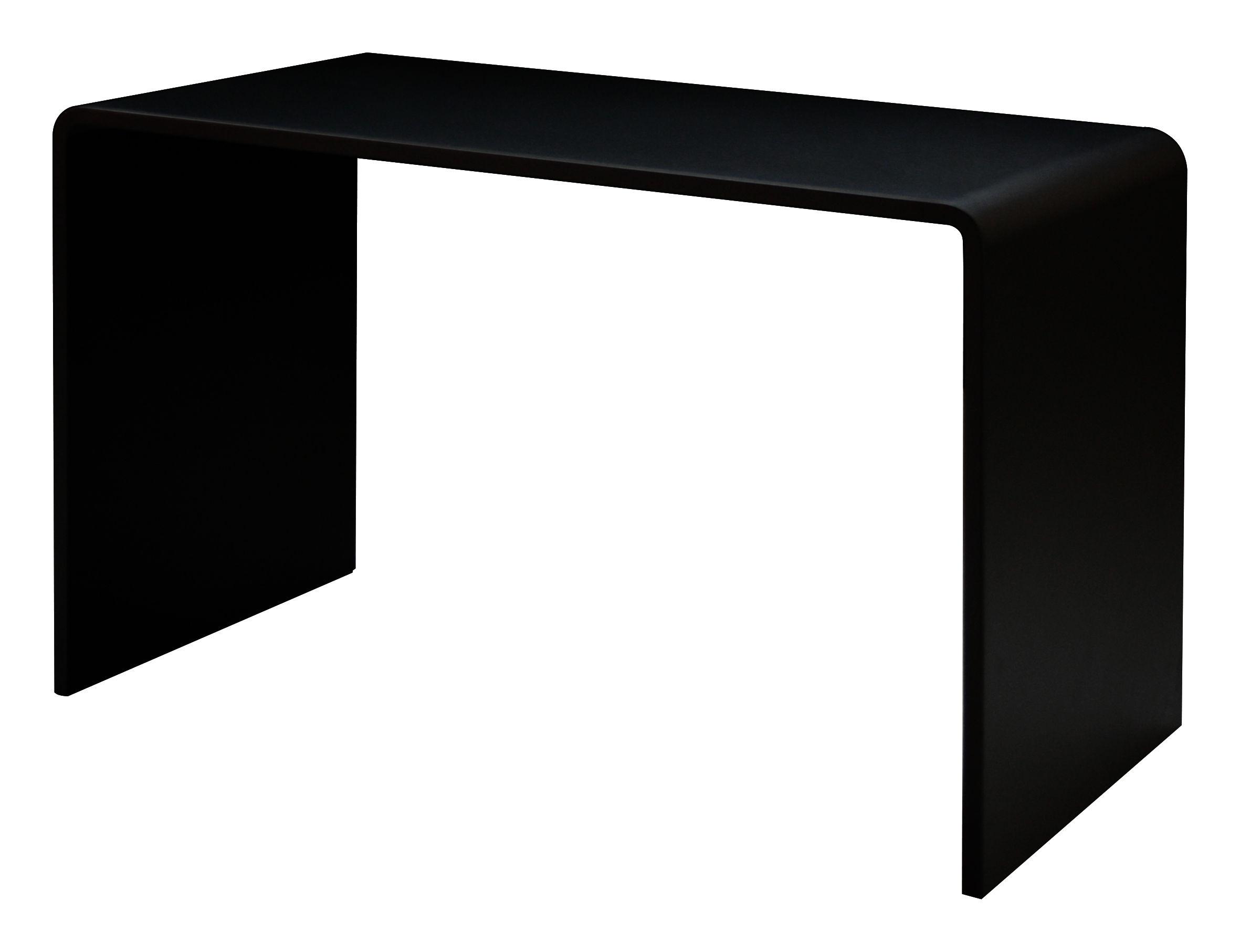 Mobilier - Bureaux - Bureau Solitaire / L 120 cm - Zeus - Noir - Acier phosphaté