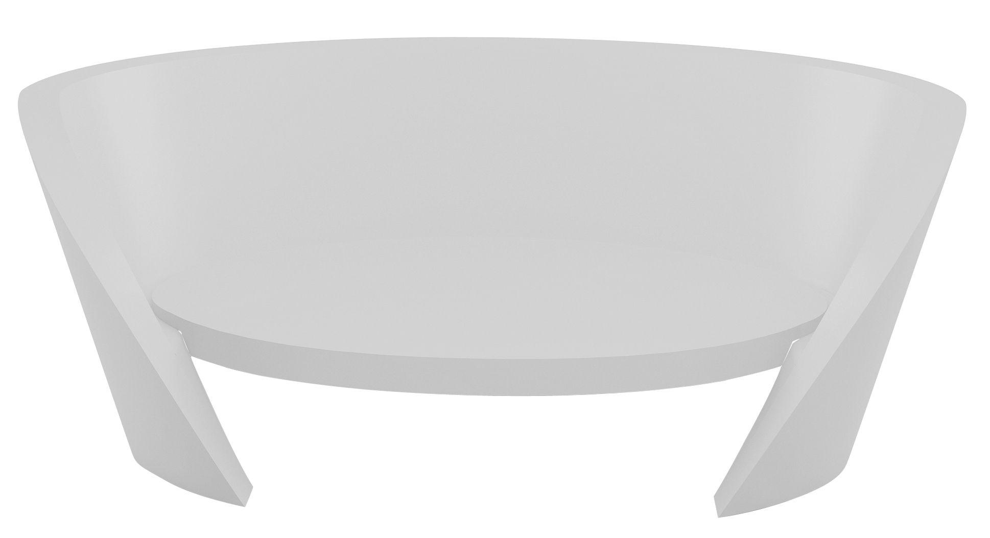Outdoor - Canapés - Canapé droit Rap / L 170 cm - Slide - Blanc - Polyéthylène