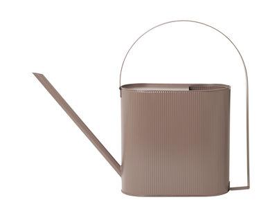 Outdoor - Vasi e Piante - Innaffiatoio Bau Large - / 8 L - Metallo di Ferm Living - Rosa antico - Acciaio galvanizzato