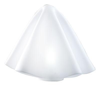 Lampe de sol Manteau H 45 cm / lampe de table - Slide blanc en matière plastique