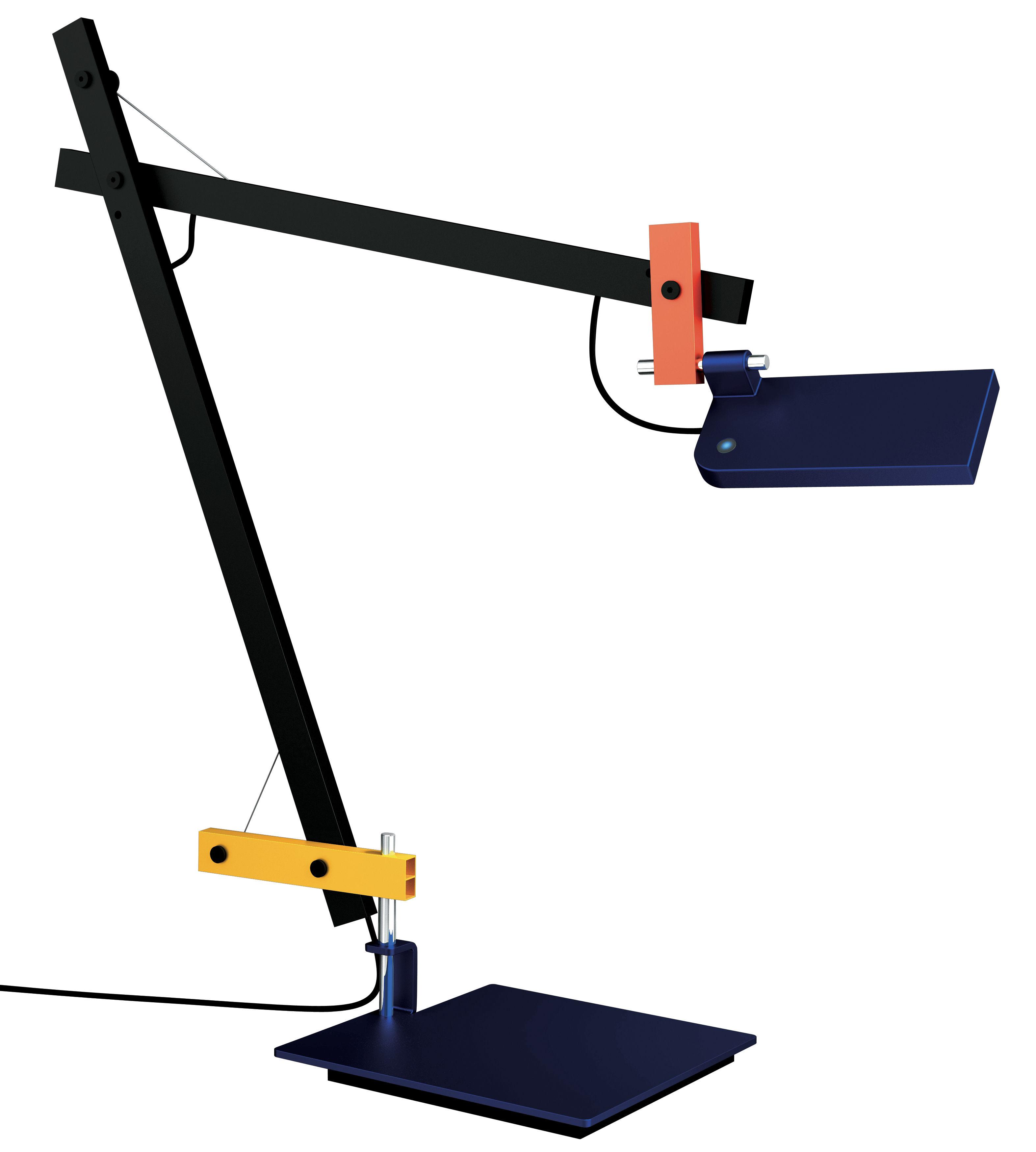 Luminaire - Lampes de table - Lampe de table LoTek LED - Artemide - Multicolore - Acier, Aluminium
