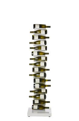 Tavola - Bar, Vino, Aperitivo - Portabottiglie Ptolomeo Vino - / Su base - H 155 cm di Opinion Ciatti - Bianco - metallo laccato