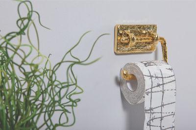 Accessori Bagno In Ottone.Portacarta Igienica Maurizio Seletti Ottone L 15 X L 14 Made