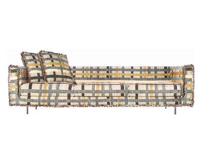 Möbel - Sofas - Boutique Coco Sofa 3-Sitzer - Moooi - Mehrfarbig - Gewebe