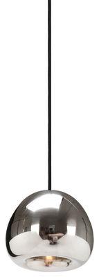Illuminazione - Lampadari - Sospensione Void Mini - Ø 15,5 cm di Tom Dixon - Acciaio inox - Acciaio inossidabile lucido
