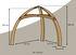 Structure autoportante Bois / Pour suspendre les tentes Cacoon - Cacoon