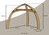 Structure - to hang up Cacoon tents by Cacoon
