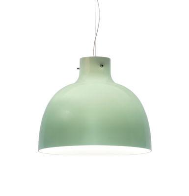 Luminaire - Suspensions - Suspension Bellissima Glossy / Ø 50 cm - Plastique - Kartell - Vert brillant - Technopolymère thermoplastique