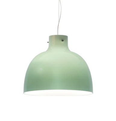 Suspension Bellissima Glossy / Ø 50 cm - Plastique - Kartell vert brillant en matière plastique
