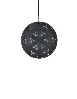 Suspension Chanpen Hexagon / Ø  26 cm - Forestier noir en tissu