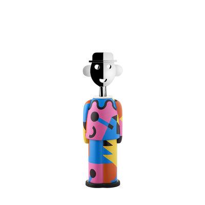 Arts de la table - Bar, vin, apéritif - Tire-bouchon Alessandro M. - Galla Placidia / Alessi 100 Values Collection - Alessi - Galla Placidia / Multicolore -  Zamak, Acier, Résine thermoplastique