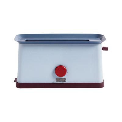 Kitchenware - Kitchen Appliances - Sowden Toaster - / Steel by Hay - Blue - Polypropylene, Stainless steel