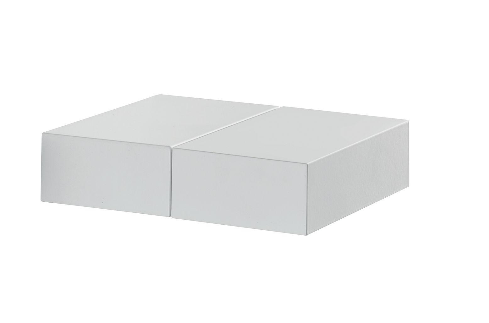 Illuminazione - Plafoniere - Applique Quadrat - / Orientabile di Carpyen - Blanc - Ghisa di alluminio