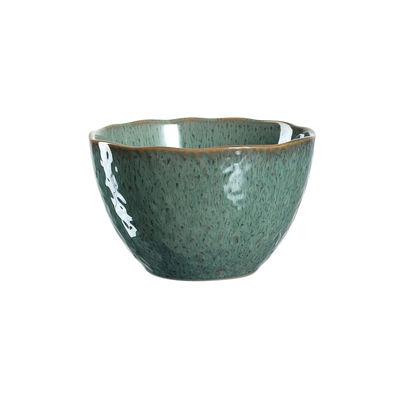 Arts de la table - Saladiers, coupes et bols - Bol Matera / Grès - Ø 15 cm - Leonardo - Vert - Grès émaillé
