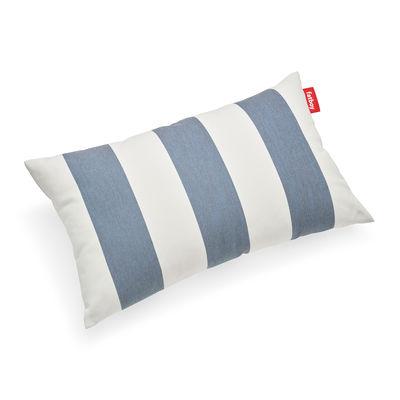 Coussin d'extérieur King OUTDOOR / Tissu Olefin - 66 x 40 cm - Fatboy bleu en tissu