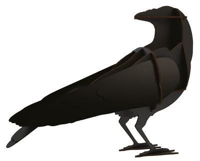 Décoration Gustav / A poser - L 28 x H 40 cm - Ibride noir en bois