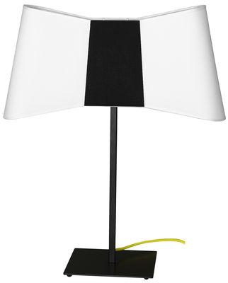 Lampe de table Grand Couture / H 60 cm - Designheure blanc,noir en métal