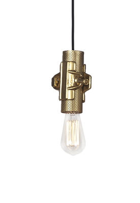 Lighting - Pendant Lighting - Nando Pendant - H 15 cm by Karman - Gold - Metal