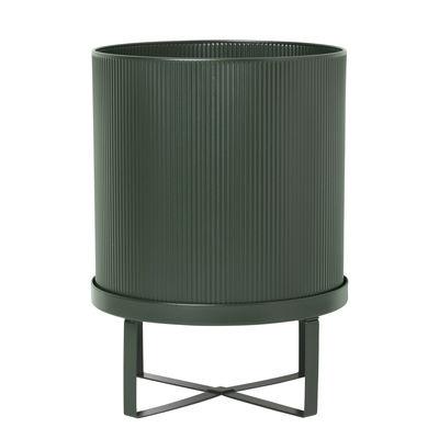 Pot de fleurs Bau Large / Ø 28 cm - Métal - Ferm Living vert en métal