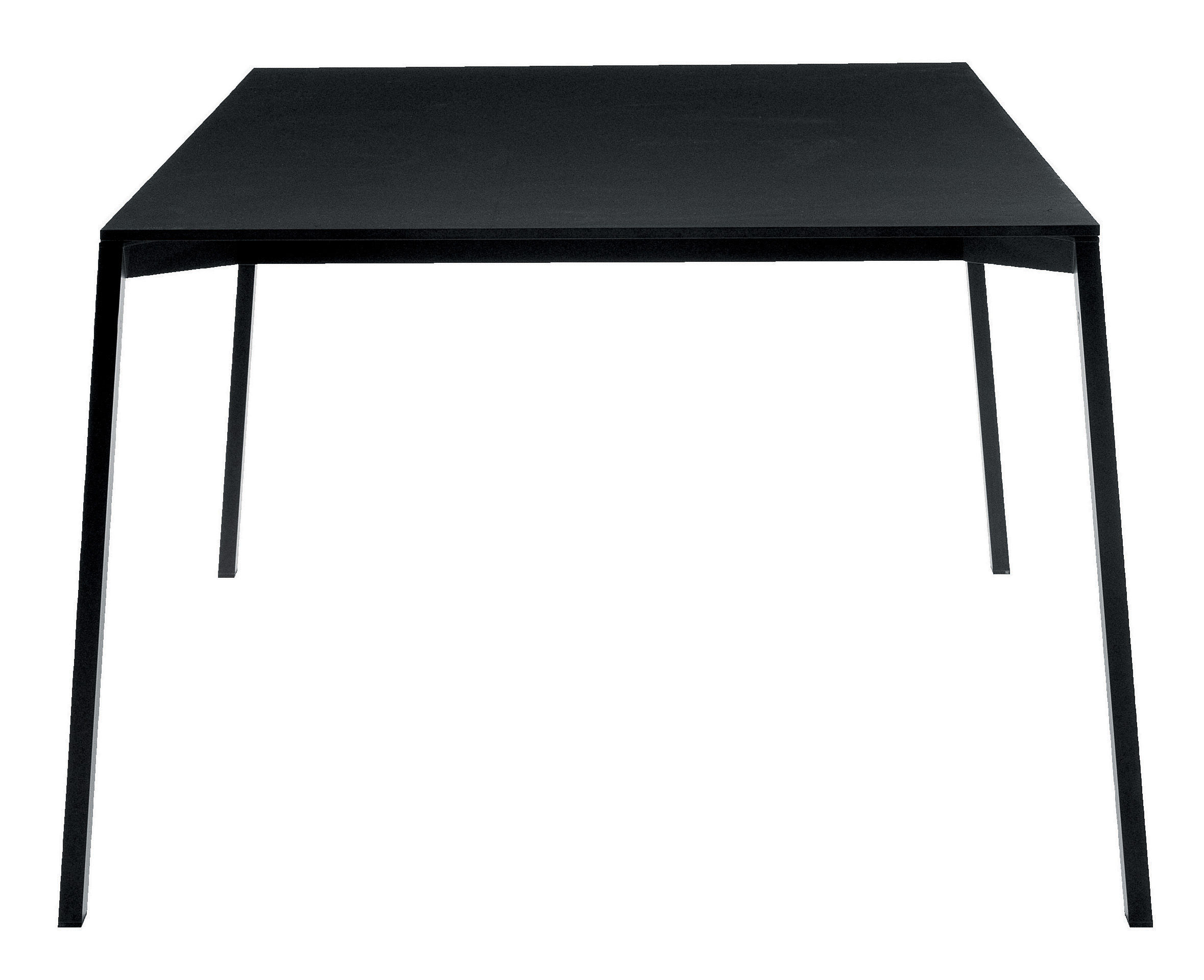 Outdoor - Garden Tables - One Rectangular table - Black by Magis - Black - 160 x 110 cm - HPL, Varnished aluminium