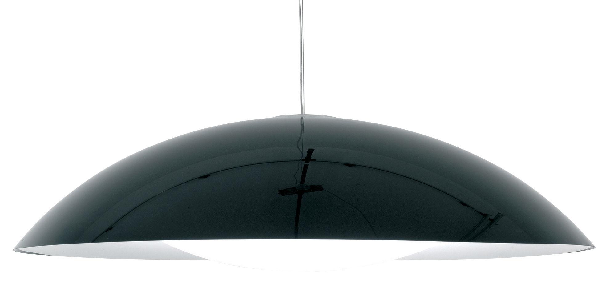 Illuminazione - Lampadari - Sospensione Neutra di Kartell - Nero - PMMA