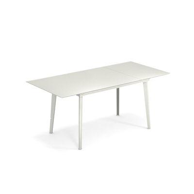 Jardin - Tables de jardin - Table à rallonge Plus4 Balcony / L 120 + 52 cm - 4 à 6 personnes - Emu - Blanc - Acier verni