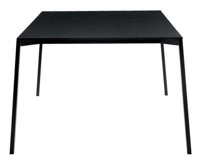 Outdoor - Tables de jardin - Table rectangulaire One / 160 x 110 cm - Magis - Noir - 160 x 110 cm - Aluminium verni, HPL