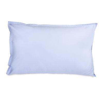 Taie d'oreiller 50 x 70 cm / Percale lavée - Au Printemps Paris bleu en tissu