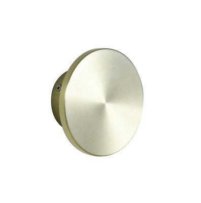 Luminaire - Appliques - Applique Zenith Small / LED - Ø 12 cm - Métal - ENOstudio - Or - Acier inoxydable