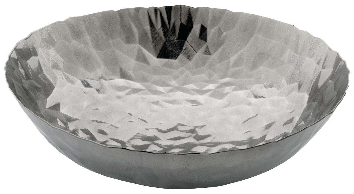 Tableware - Fruit Bowls & Centrepieces - Joy n.11 Centrepiece - Ø 37 cm by Alessi - Mirror polished steel - Stainless steel 18/10