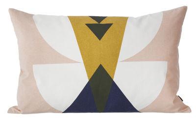 Interni - Cuscini  - Cuscino Inka - / 60 x 40 cm di Ferm Living - Rosa - Cotone