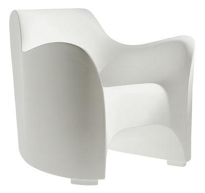 Chaise Tokyo Pop - Driade blanc en matière plastique