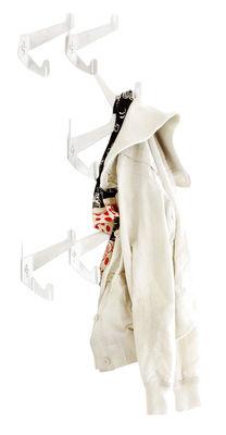 Häkeln Garderobe Set Mit 6 Garderobenhaken Weiß By Authentics