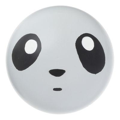 Furniture - Coat Racks & Pegs - Panda Hook by Ferm Living - Panda / Black & white - Painted beech