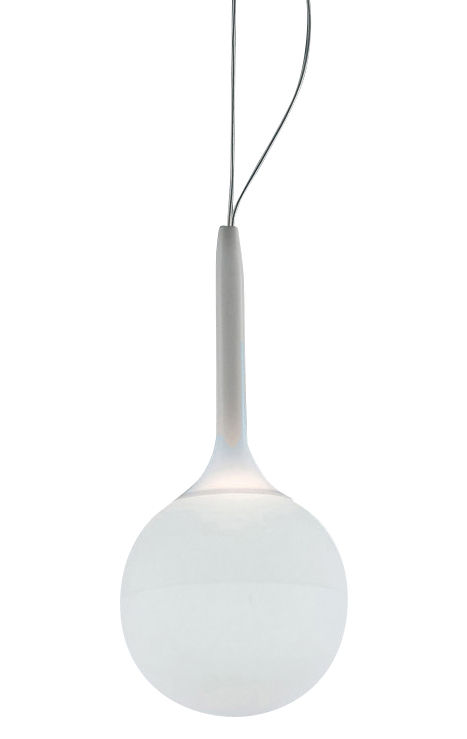 Lighting - Pendant Lighting - Castore Pendant by Artemide - White - Ø 14 cm - Blown glass