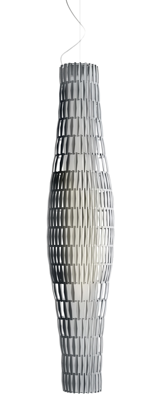 Lighting - Pendant Lighting - Tropico Vertical Pendant - Modular by Foscarini - Transparent - Metal, Plastic material