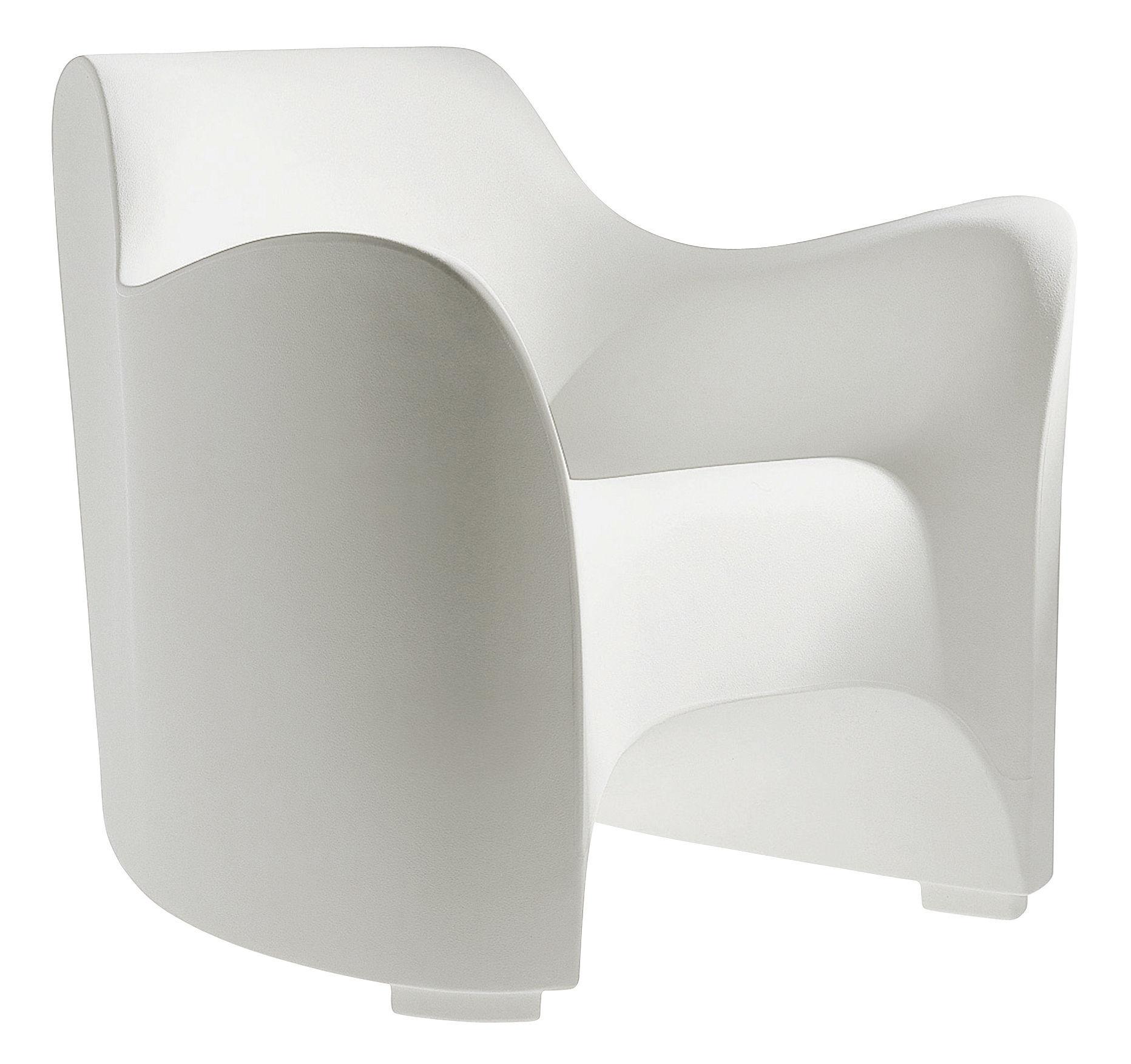 Möbel - Lounge Sessel - Tokyo Pop Sessel - Driade - Weiß - Polyäthylen