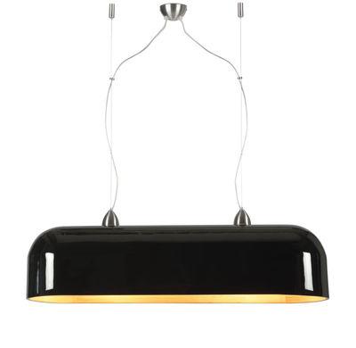Illuminazione - Lampadari - Sospensione Halong - / Bambù - L 87 cm di GOOD&MOJO - Nero laccato - Bambù