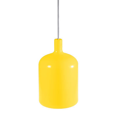 Suspension Bulb - Bob design jaune en matière plastique