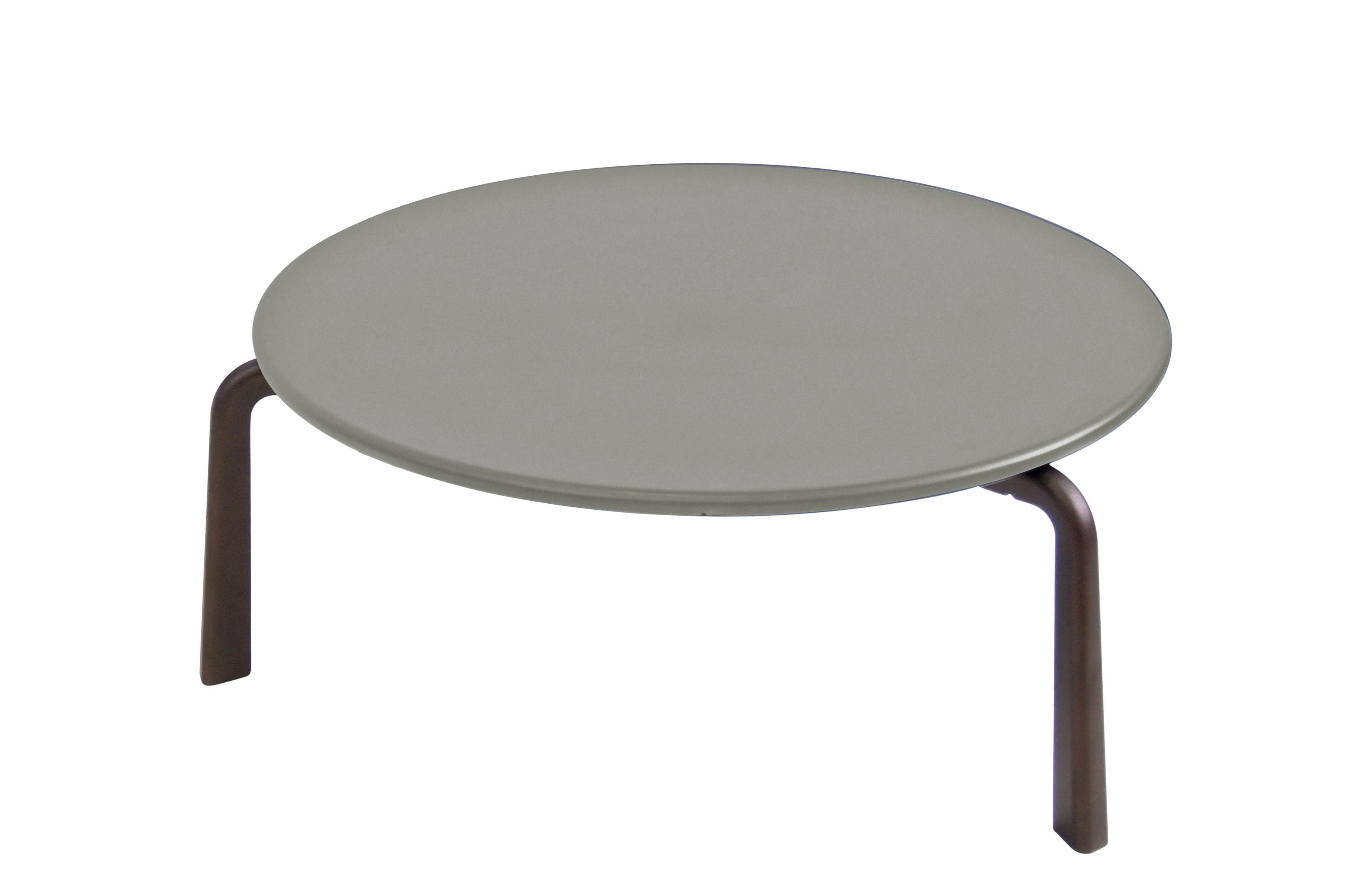 Table Basse Cross Small O 70 Cm Metal Emu