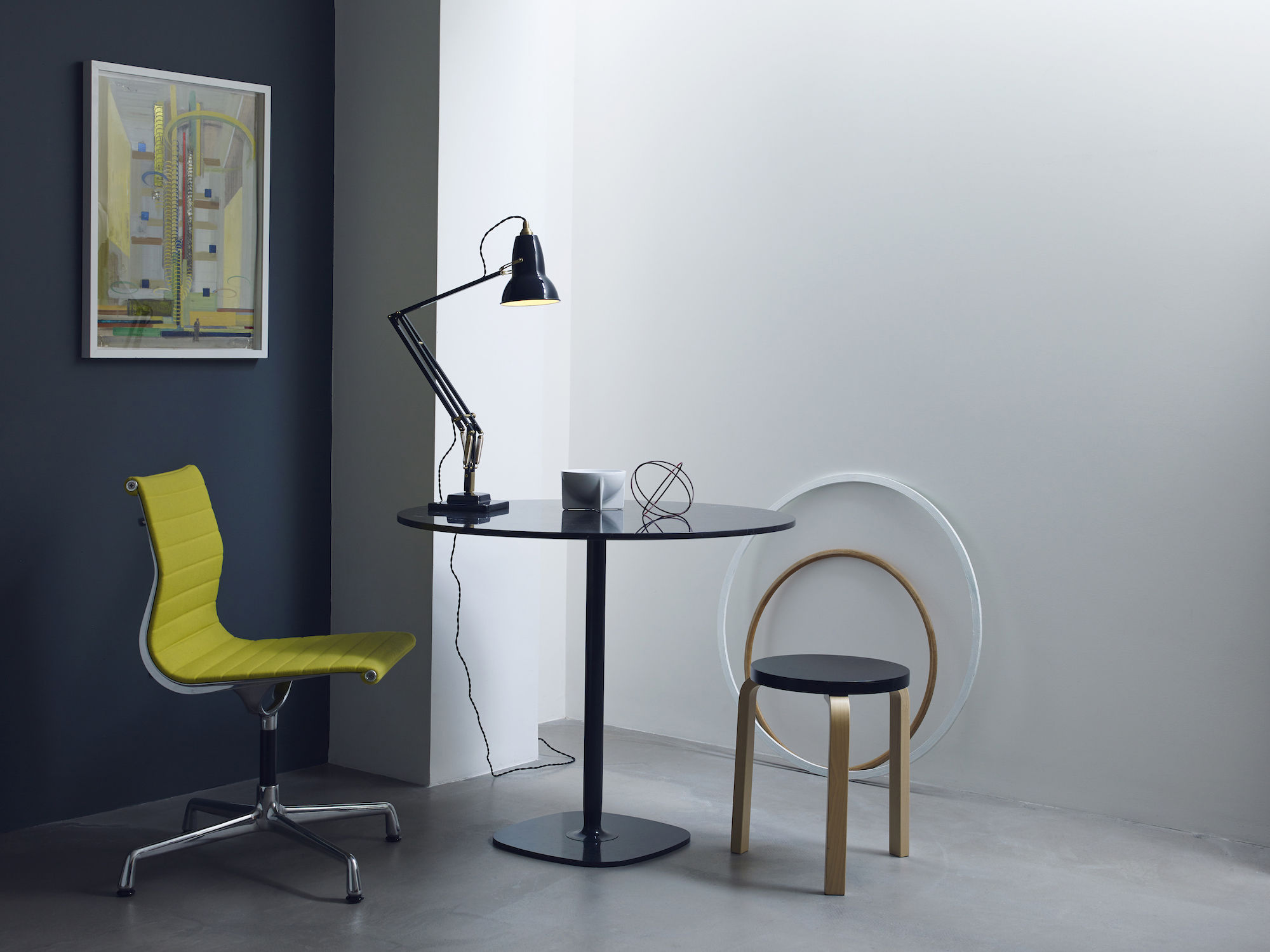 Table Lamp Original 1227 By Anglepoise Grey Made In