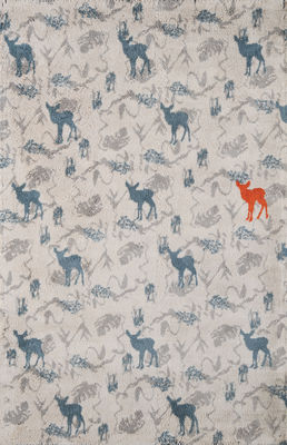 Déco - Pour les enfants - Tapis Bamby / 110 x 170 cm - Toulemonde Bochart - Nordic - Coton